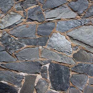 Placyki ogrodowe z kamienia nieregularnego